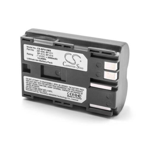 G3 Batería 2000mAh para Canon PowerShot G1 G5 G2 G6