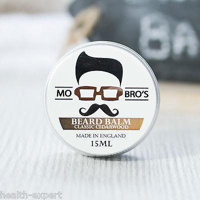 Mo Bro's - Classic Cedarwood Beard Conditioning Balm 15ml Made In England