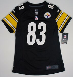 Nike Women s Pittsburgh Steelers  83 Heath Miller On Field Game ... c888802bf7