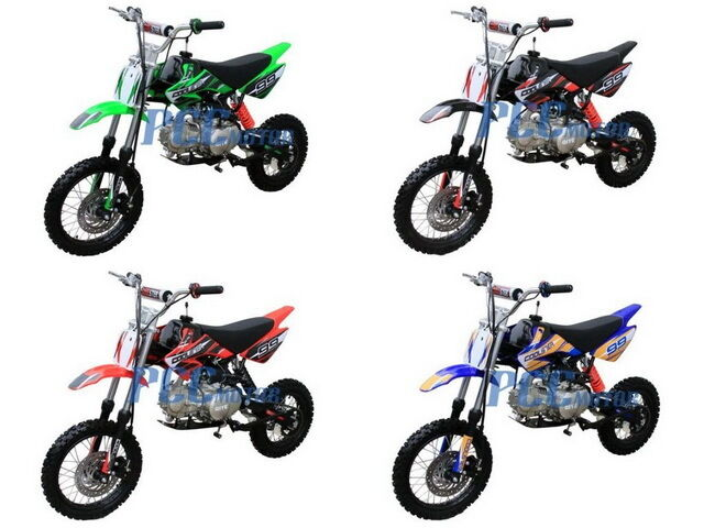 Free Shipping Coolster New 125cc Mid Size CRF STYLE Dirt Bike DB125XR