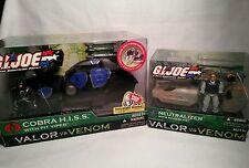 GI Joe Valor vs. Venom Vehicle Lot- Cobra H.I.S.S. Neutralizer Backblast Viper