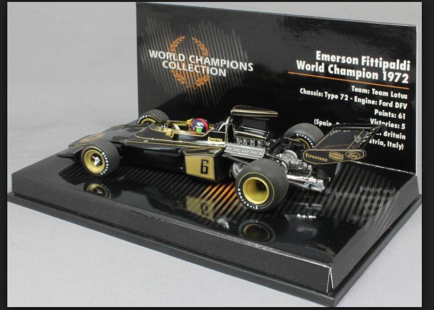 Lotus Type 72 W.Champion 1972 E.Fittipaldi 1 43 (436720006) Minichamps