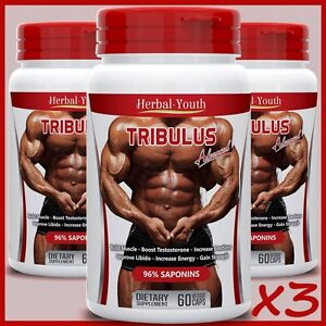 TRIBULUS-TERRESTRIS-EXTRACT-96-SAPONINS-BIG-MUSCLE-TESTOSTERONE-BOOSTER-PILLS