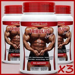 Il-Tribulus-Terrestris-estratto-96-Saponine-Testosterone-Muscolo-Grande-BOOSTER-Pillole
