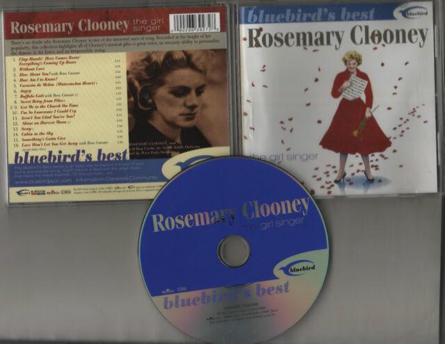 ROSEMARY CLOONEY ~THE GIRL SINGER~ BLUEBIRD 16 TRACKCD  **FREE P&P**