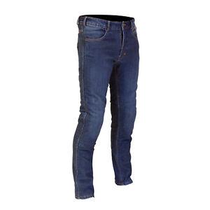 Route-One-Mason-Short-Leg-Waterproof-Abrasion-Resistant-Denim-Motorcycle-Jeans
