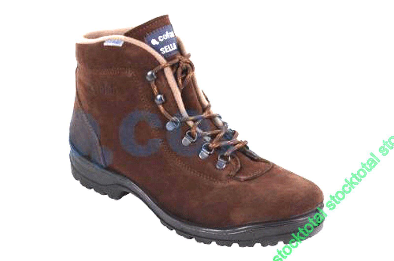 Botas Trekking Modelo Sella con piel Hidrófuga de de de velour marrón de color  Nº 42 8aba57