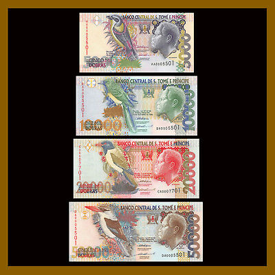 SAO TOME e PRINCIPE 1996 5000 DOBRAS UNCIRCULATED BANKNOTE P-65 FROM USA SELLER