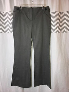 Limited-Size-8-Cassidy-Fit-Gray-Dress-Pants-Wide-Leg-29x33-PERFECT-Women-039-s