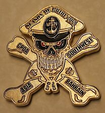 Cheif Petty Officers Association Southwest Asia Bahrain Navy Challenge Coin