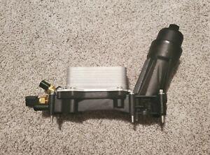 Oil Cooler Filter Adapter Housing For Dodge Jeep Chrysler 3.6 2014-17 68105583A