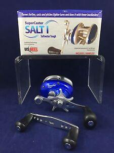 NEW-U-S-Reel-SuperCaster-Salt-amp-Fresh-Water-Limited-Quantity