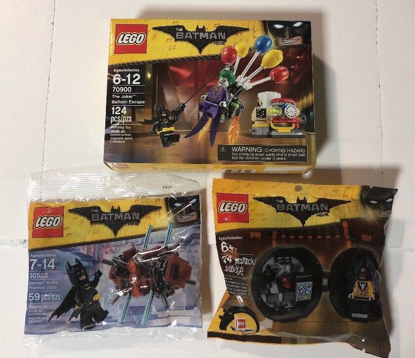 LEGO Batman Movie Lot 70900, 30522, 5004929, NEW, SEALED