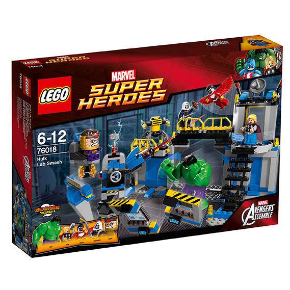 LEGO ® 76018 MARVEL  SUPER HEROES Hulks laboratorio Smash Nuovo OVP nuovo  offrendo il 100%