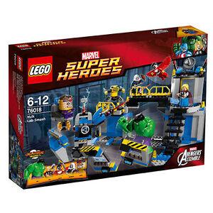 Lego® 76018 Marvel Super Heroes Hulks Lab Smash Nouveau Ovp Nouveau