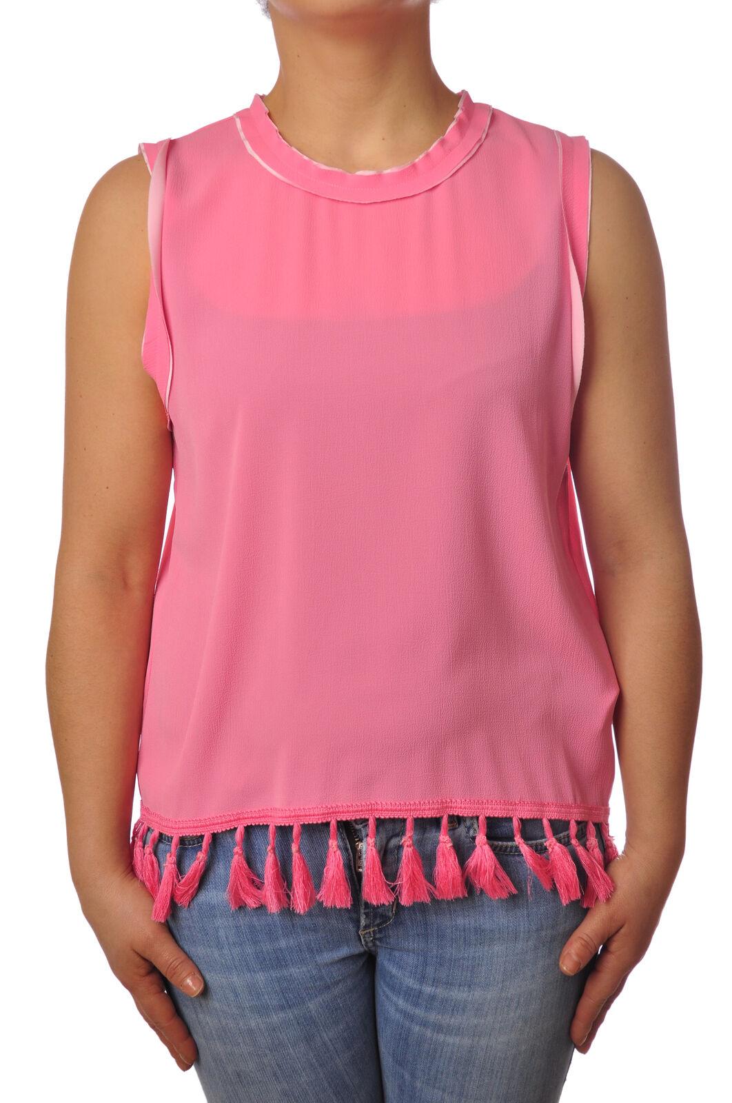 Traffic People - Topwear-Sleeveless Top - Woman - Pink - 5110616C184342