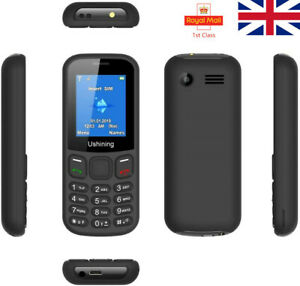 "Entsperrt 1.8"" Dual Sim Frei grundlegende einfache Big Button Handy FM SOS UK"