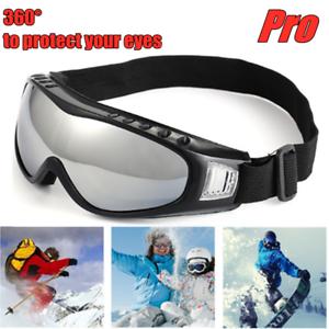Snow Ski Goggles Anti-Fog UV Lens Snowboard Snowmobile Motorcycle For Men Women
