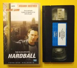 VHS-Film-Ita-Commedia-HARDBALL-keanu-reeves-diane-lane-ex-nolo-no-dvd-cd-mc-V127