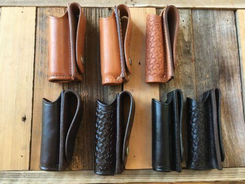 "Brown Tex Shoemaker Police Duty Flashlight Holder 93 1/"" Diameter Black"