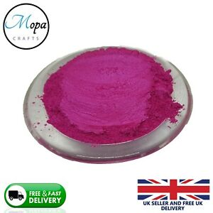 Polvo-Pigmento-Jabon-Magenta-Mica-de-Cosmeticos-Bano-Bombas-Sombra-de-Ojos-Arte-en-Unas