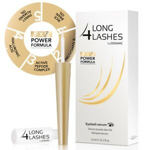 NEW-Long-4-Lashes-FX5-POWER-FORMULA-Eyelash-GROWTH-Enhancing-Serum-3ml