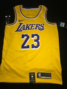 the latest 2c69d b528f Details about Lebron James Icon Edition Swingman Jersey (Lakers) Size  Medium 100% Authentic