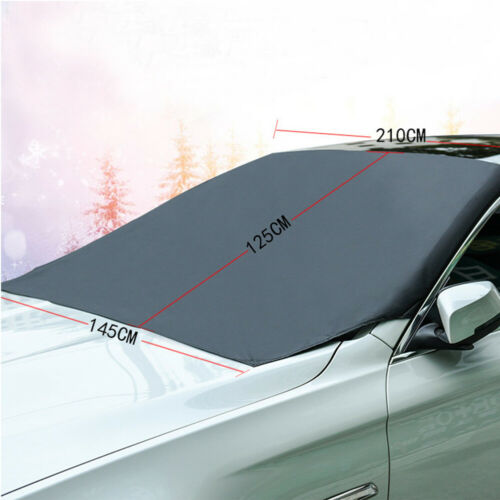 Magnetic Car Windshield Cover Protect Snow Ice Frost Freeze Sunshade Protector