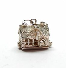 Vintage 925 Sterling Silver ENGLISH COUNTRY PUB OPENS TO BAR Charm Pendant 2.5g