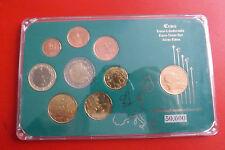 * Italien Euro KMS 2002 + 200 Lire Münze  in Blister *