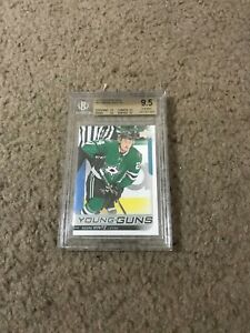 2018-19-Upper-Deck-Series-1-Roope-Hintz-Young-Guns-BGS-9-5-Dallas-Stars