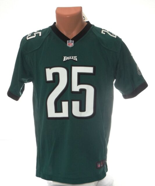 1e44aa21b Nike NFL Philadelphia Eagles McCoy 25 Green Football Jersey Youth Boy s L
