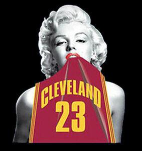 Marilyn Monroe T Shirt LeBron James