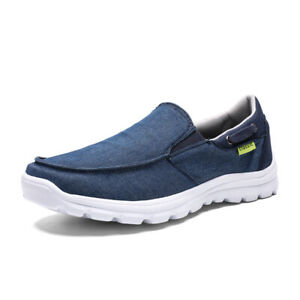 New-Men-039-s-Casual-Shoes-Slip-On-Outdoor-Sneakers-Breathable-Hiking-Climbing-Shoes