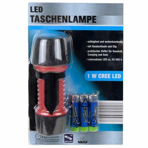 MELLERT LED Taschenlampe Brenndauer bis 10 Std