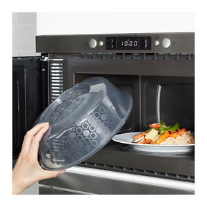 Image Is Loading Ikea Microwave Lid Gray Blue Ig With Several