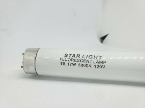 F17T8//D 17W 5000K OR 6500K Daylight T8 24in Fluorescent Lamps