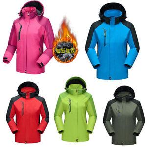 Men-Women-Outdoor-Jacket-Winter-Waterproof-Hiking-Ski-Snow-Thicken-Warm-New-Coat
