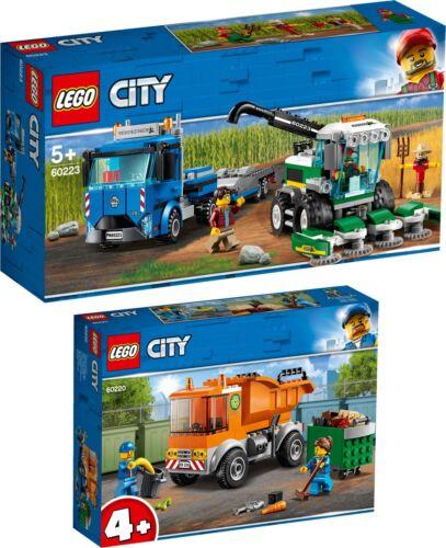 LEGO® City 60223 60220 Transporter für Mähdrescher Müllabfuhr N2//19