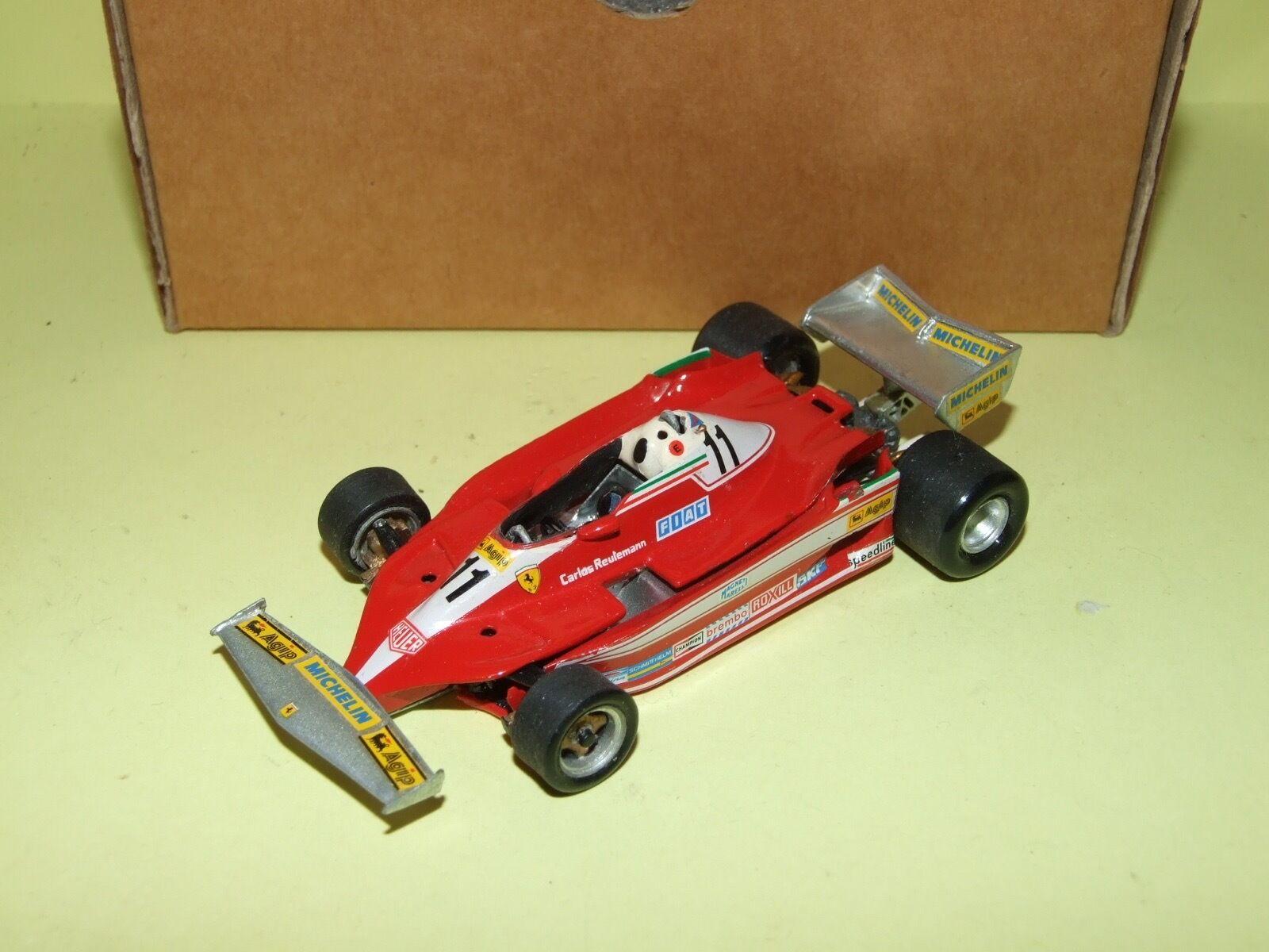 Ferrari 312 t3 long beach 1979 reutemann meri kit 1 43 arrival 3è championship