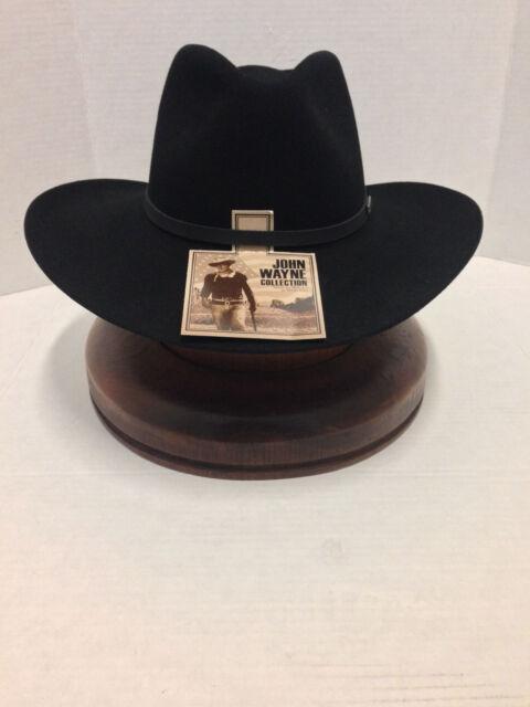 4e76feb754012 John Wayne 6x Fur Felt Duke Cowboy Hat Silverbelly 7 1 4 for sale ...