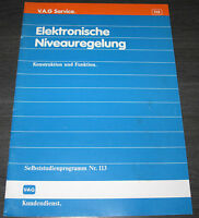 VW Passat 35i Elektronische Niveauregelung Selbststudienprogramm  SSP 113