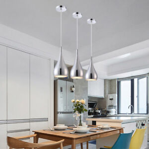 3x Kitchen Pendant Lights Modern Bar Lamp Dining Room Ceiling Light Home Lights Ebay