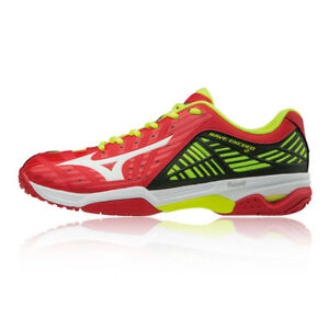 Mizuno Hommes Wave Exceed 2 All Court Chaussures De Tennis Sport Baskets Rouge