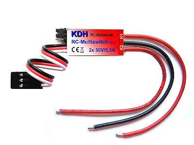 Multi Switch V2, 2 Canali Rc Interruttore, 2x 30v/5, 3a, Modulo Di Commutazione, Switch-mostra Il Titolo Originale