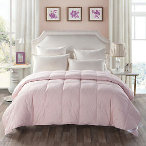 snowman lightweight alternative down comforter full size pink ebay. Black Bedroom Furniture Sets. Home Design Ideas