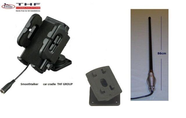 Universal  car cradle inc external antenna 7db high gain -Smoothtalker  car kit