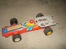 altes Blechspielzeug Auto DDR Presto Rennwagen Blechauto tin car Ostalgie