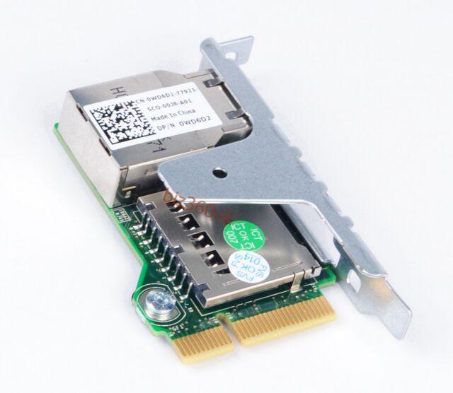 DELL 0WD6D2 POWEREDGE T320 SERVER REMOTE ACCESS CARD WD6D2