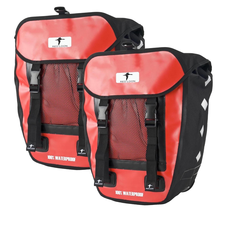 Ideales HITEC equipaje bolso bolsa doble negro rojo nuevo